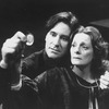 "Kevin Kline as Hamlet and Dana Ivey as Gertrude in a scene from the NY Shakespeare Festival production of the play ""Hamlet""."