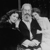 """(L-R) Actors Rosemary Harris, Rex Harrison and Amy Irving in a scene from the Circle In The Square production of the play """"Heartbreak House""""."""
