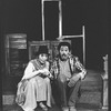 "Charles Brown and Michele Shay in a scene from the Broadway production of the play ""Home"""