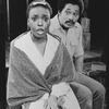 "Charles Brown and L. Scott Caldwell in a scene from the Broadway production of the play ""Home"""