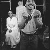 "(L-R) L. Scott Caldwell, Michele Shay, and Charles Brown in a scene from the Broadway production of the play ""Home"""