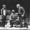 "(R-L) Michael Tucker, Judd Hirsch and Cleavon Little in a scene from the Broadway production of the play ""I'm Not Rappaport"""