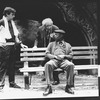 "(C-L) Judd Hirsch and Cleavon Little in a scene from the Broadway production of the play ""I'm Not Rappaport"""