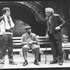 "(L-C) Judd Hirsch and Cleavon Little in a scene from the Broadway production of the play ""I'm Not Rappaport"""