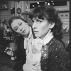 """(L-R) Aideen O'Kelly and Tandy Cronyn in a scene from the Roundabout Theatre production of the play """"The Killing Of Sister George""""."""