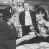 """(L-R) Ruby Holbrook, Aideen O'Kelly and Tandy Cronyn in a scene from the Roundabout Theatre production of the play """"The Killing Of Sister George""""."""