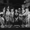 """Peter Allen (C) in a scene from the Broadway production of the musical """"Legs Diamond"""""""
