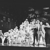 """Peter Allen (2R) in a scene from the Broadway production of the musical """"Legs Diamond"""""""