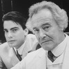 "(L-R) Peter Gallagher and Jack Lemmon in a scene from the Broadway revival of the play ""Long Day's Journey Into Night"""