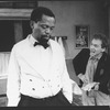"""(L-R) Zakes Mokae and Lonny Price in a scene from the Broadway production of the play """"Master Harold And The Boys"""""""