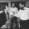 "(L-R) Lonny Price, Danny Glover and Zakes Mokae in a scene from the Broadway production of the play ""Master Harold And The Boys"""