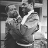"(R-L) Danny Glover and Zakes Mokae in a scene from the Broadway production of the play ""Master Harold And The Boys"""