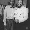 """(L-R) Delroy Lindo and James Earl Jones in a scene from the Broadway production of the play """"Master Harold And The Boys"""""""