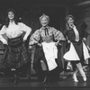 "Betty Garrett (C) dancing in a scene from the Broadway production of the musical ""Meet Me In St. Louis"""