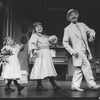 "Milo O'Shea (R) dancing in a scene from the Broadway production of the musical ""Meet Me In St. Louis"""