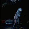 """Actress Laurie Beechman in the role of Grizabella performing on stage in scene from the musical """"Cats"""""""
