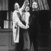 "(L-R) Richard Chamberlain, Melissa Errico and Paxton Whitehead in a scene from the Broadway revival of the musical ""My Fair Lady""."