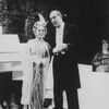 "Dolores Sutton and Paxton Whitehead in a scene from the Broadway revival of the musical ""My Fair Lady""."
