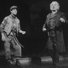 """George Rose (R) in a scene from the Broadway production of the musical """"The Mystery Of Edwin Drood""""."""