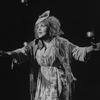 "Cleo Laine in a scene from the Broadway production of the musical ""The Mystery Of Edwin Drood""."