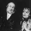 "George N. Martin and Jana Schneider in a scene from the Broadway production of the musical ""The Mystery Of Edwin Drood""."