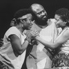 "La Chanze (R) in a scene from the Broadway production of the musical ""Once On This Island""."