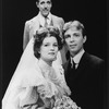 "(T-B) Fred Gwynne and Kate Mulgrew in a scene from the American Shakespeare Festival production of the play ""Our Town""."