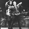 """Sandy Duncan and George Rose in a scene from the Broadway revival of the musical """"Peter Pan""""."""