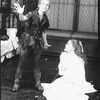 """Cathy Rigby (L) in a scene from the Broadway revival of the musical """"Peter Pan""""."""