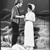 """Rex Smith and Linda Ronstadt in a scene from the NY Shakespeare Festival production of the musical """"The Pirates Of Penzance""""."""