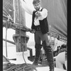 """Treat Williams in a scene from the NY Shakespeare Festival production of the musical """"The Pirates Of Penzance""""."""