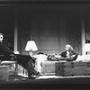 "Cynthia Nixon and Jeremy Irons in a scene from the Broadway production of the play ""The Real Thing"""