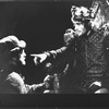 """Kevin Kline (R) in a scene from the NY Shakespeare Festival Central Park production of the play """"Richard III""""."""