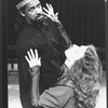 "Denzel Washington and Nancy Palk in a scene from the NY Shakespeare Festival Central Park production of the play ""Richard III""."