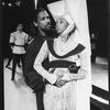 "Denzel Washington and Sharon Washington in a scene from the NY Shakespeare Festival Central Park production of the play ""Richard III""."