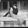 "Paul Rudd and Pamela Payton-Wright in a scene from the Circle In The Square production of the play ""Romeo And Juliet""."