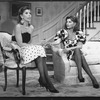 "(R-L) Jessica Walter and Christine Baranski in a scene from the Broadway production of the play ""Rumors""."