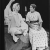 "Lynn Redgrave and Joseph Bova in a scene from the Circle In The Square production of the play ""Saint Joan""."