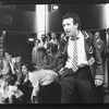 """Allan Corduner (R) in a scene from the Broadway production of the play """"Serious Money"""""""