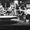 "A scene from the Broadway production of the play ""Serious Money"""
