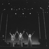 """(L-R) Ned Sherrin, Millicent Martin, David Kernan and Julia McKenzie in a scene from the Broadway production of the musical revue """"Side By Side By Sondheim"""""""