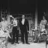 "(L-R) Julie Dretzin, Robert Klein, Patrick Fitzgerald, John Vickery, Jane Alexander, Frances McDormand and Madeleine Kahn in a scene from the Broadway production of the play ""The Sisters Rosensweig"" (New York)"