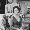 "Robert Klein and Jane Alexander in a scene from the Broadway production of the play ""The Sisters Rosensweig"" (New York)"