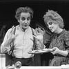 "Beth Fowler and Bob Gunton in a scene from the Circle In The Square production of the musical ""Sweeney Todd""."