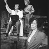 "Director Susan Schulman with actors Beth Fowler and Bob Gunton from the Circle In The Square production of the musical ""Sweeney Todd""."