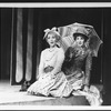 """(L-R) Mary D'Arcy and Melanie Vaughan in a scene from the Broadway production of the musical """"Sunday In The Park With George""""."""