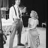 """Blythe Danner and Frank Converse in a scene from the Circle In The Square production of the play """"A Streetcar Named Desire""""."""
