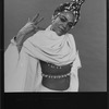 """Eartha Kitt in a scene from the Broadway production of the musical """"Timbuktu"""""""