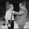 """(L-R) Richard Dreyfuss and Clifton James in a scene from the Broadway production of the play """"Total Abandon"""""""
