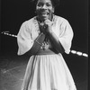 """Stephanie Mills in a scene from the Broadway production of the musical """"The Wiz""""."""